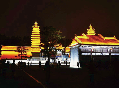 The Ancient Temple of Mingjing in Chaozhou